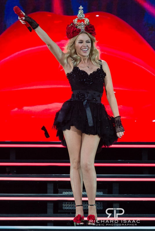 Kylie Minogue live at Hyde Park, 21 June 2015