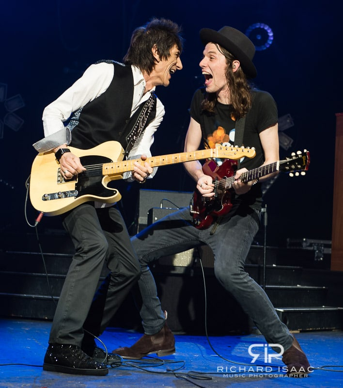 James Bay live at O2 Academy Brixton, with special guest Ronnie Wood, 30 September 2015