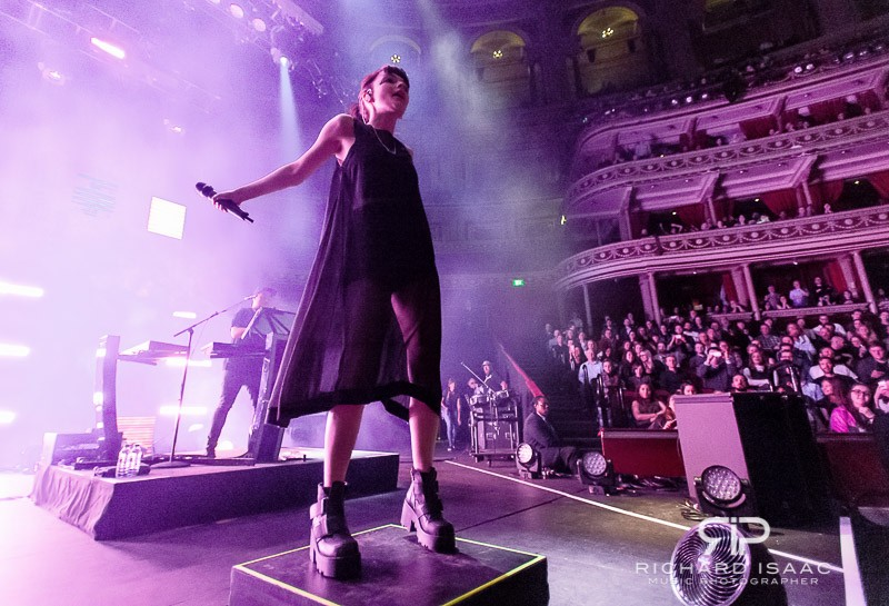 Chvrches live at the Royal Albert Hall, 31 March 2016
