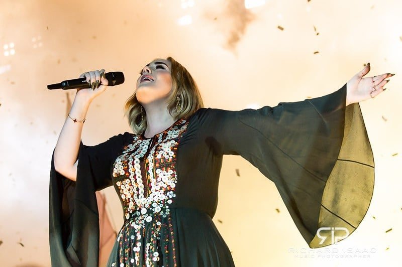 Adele live at Glastonbury Festival 2016