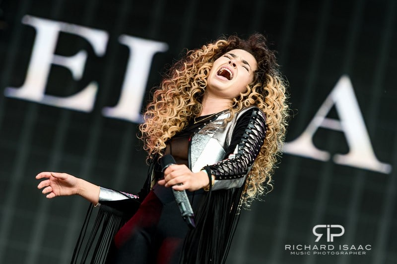 Ella Eyre live at British Summer Time Hyde Park 8 July 2016