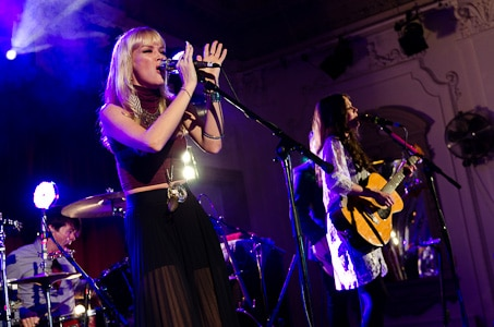 The Pierces live at Bush Hall, 15 June 2011
