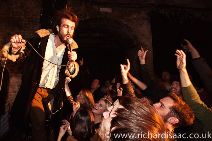 Edward Sharpe and the Magnetic Zeroes live at the Old Vic Tunnels, 10 March 2011