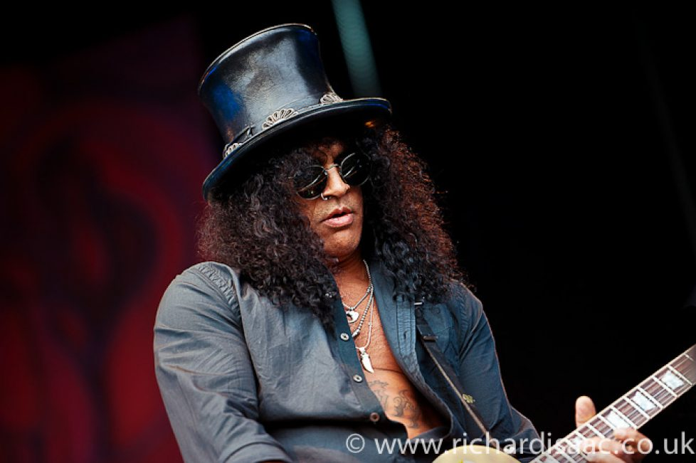 Slash live at High Voltage, 23 July 2011