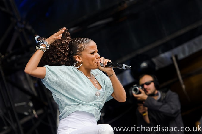 Magnetic Man feat Ms Dynamite live at SW4, 28 Aug 2011