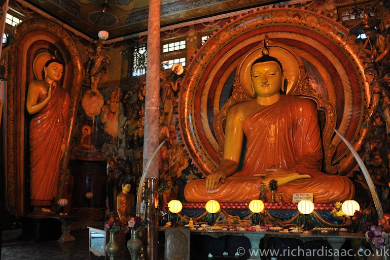 Gangaramaya Buddhist temple - Colombo, Sri Lanka