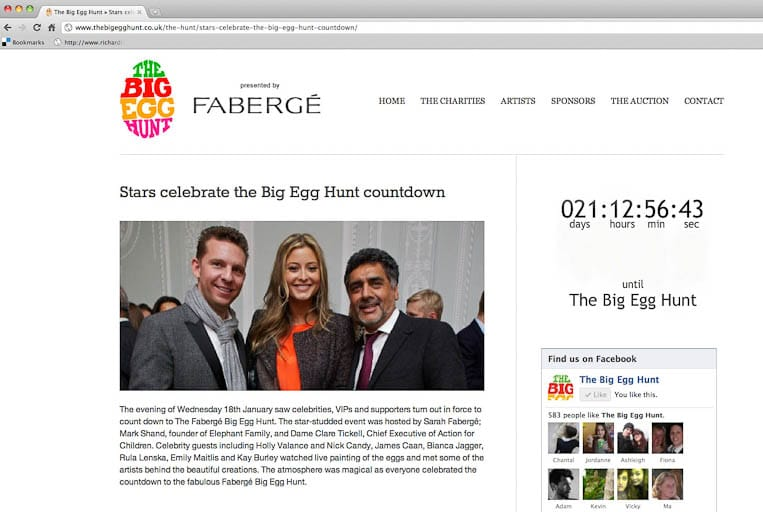 The Fabergé Big Egg Hunt