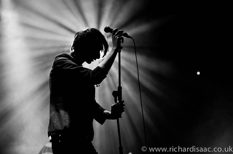 The Horrors live at Alexandra Palace, 8 March 2012