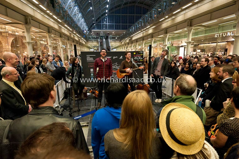 The Futureheads play St Pancras International's Station Sessions, 22 March 2012
