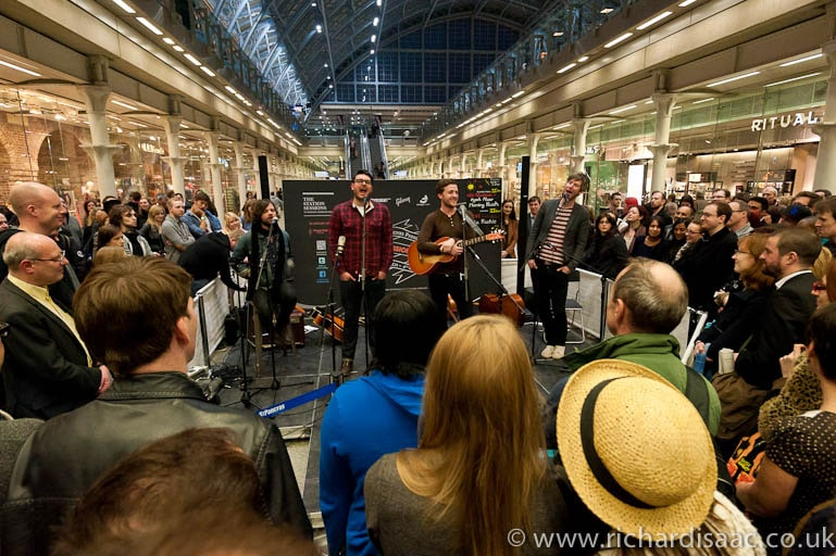 St Pancras Station Sessions - March 2012