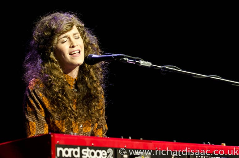 Rae Morris supporting Noah and the Whale live at the Royal Albert Hall, 16 April 2012
