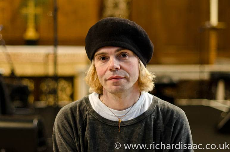 "Tim Burgess of The Charlatans - autobiography ""Telling Stories"" launch"
