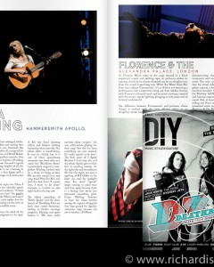 DIY May issue - Laura Marling and Florence and the Machine pic usage