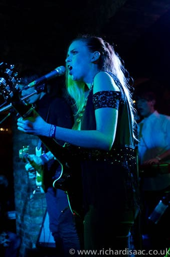 Kyla la Grange live at The Wheelbarrow, The Camden Crawl - 6 May 2012