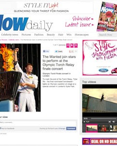 Now Magazine - Tyler Rix/Olympic Torch Relay Finale Concert Hyde Park, London - 1 Aug 2012
