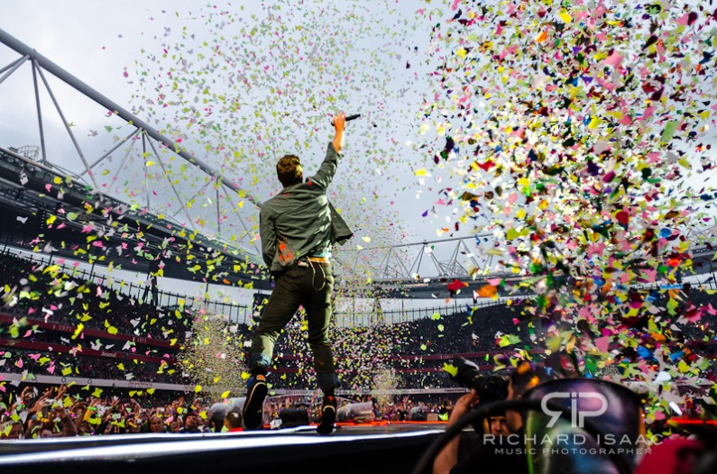 Coldplay live at Emirates Stadium, 1/6/12