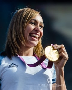 London 2012 Team GB Olympic Gold medal-winning heptathlete Jessica Ennis 5/08/12