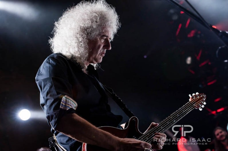 Brian May live at the Royal Albert Hall, 16/9/12