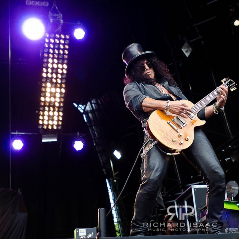 Slash live at High Voltage, 23/7/11