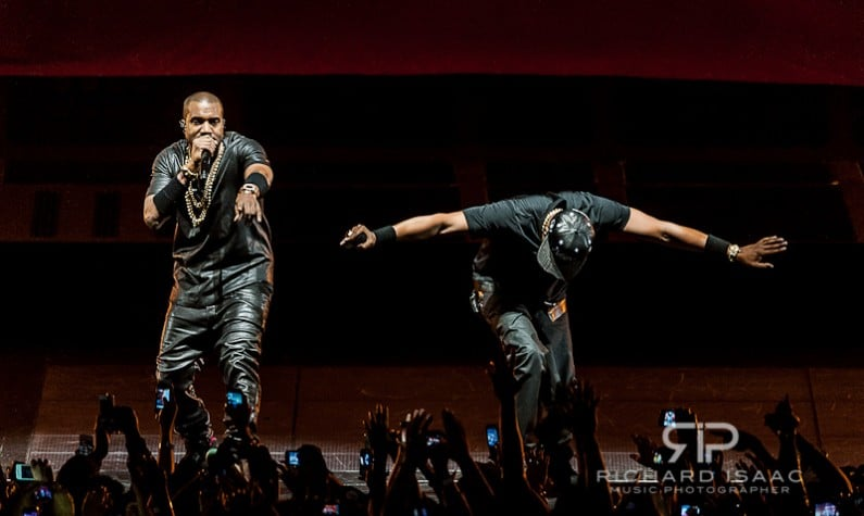 Jay-Z & Kanye West - Watch the Throne - live at The O2 Arena, 21/5/12