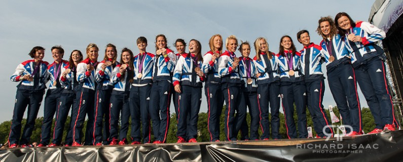 London 2012 Team GB Hockey team