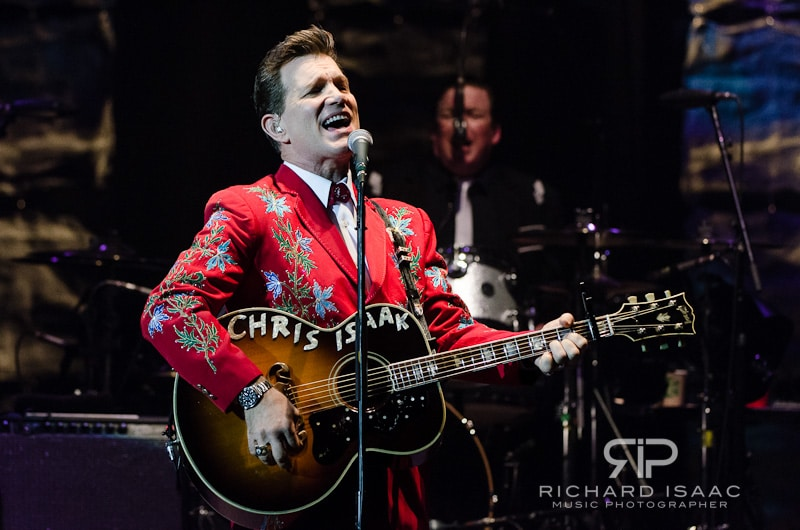Chris Isaak live at Hammersmith Apollo, 9/10/12