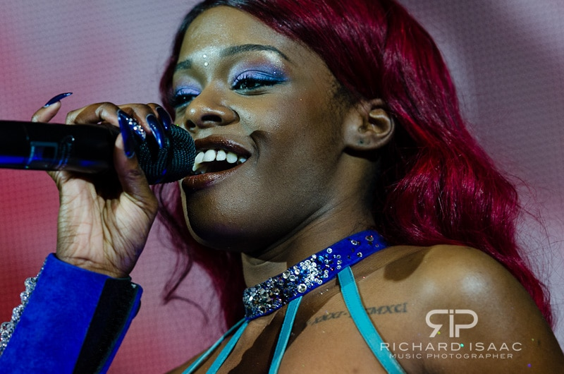 Azealia Banks live at Shepherds Bush Empire, 12/10/12