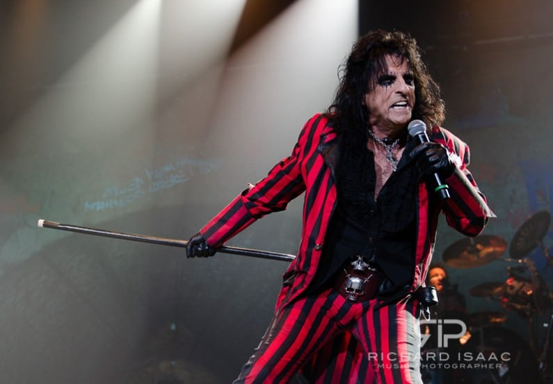 Alice Cooper live at Wembley Arena, 28/10/12