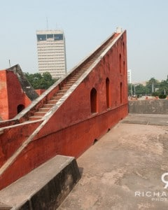 One of the astronomical instruments at Delhi's Jantar Mantar - India