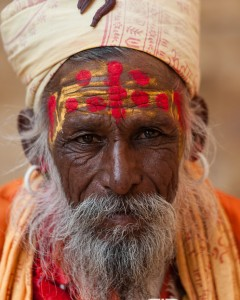 A Hindu holy man - Jaisalmer fort, Rajasthan, India