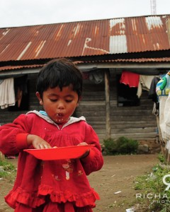 Village child - Berestaggi, Sumatra, Indonesia