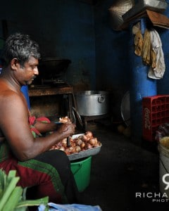 A roadside businessman - Colombo, Sri Lanka