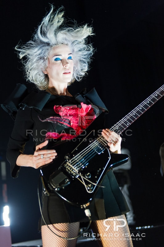 St Vincent live at Shepherds Bush Empire, 20/2/14