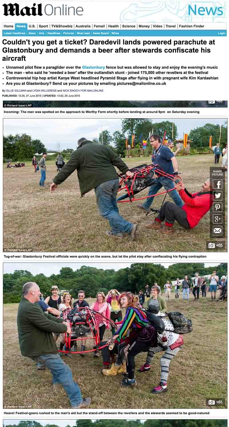 Image usage - Mailonline 25 June 2015 - Glastonbury Festival 2015