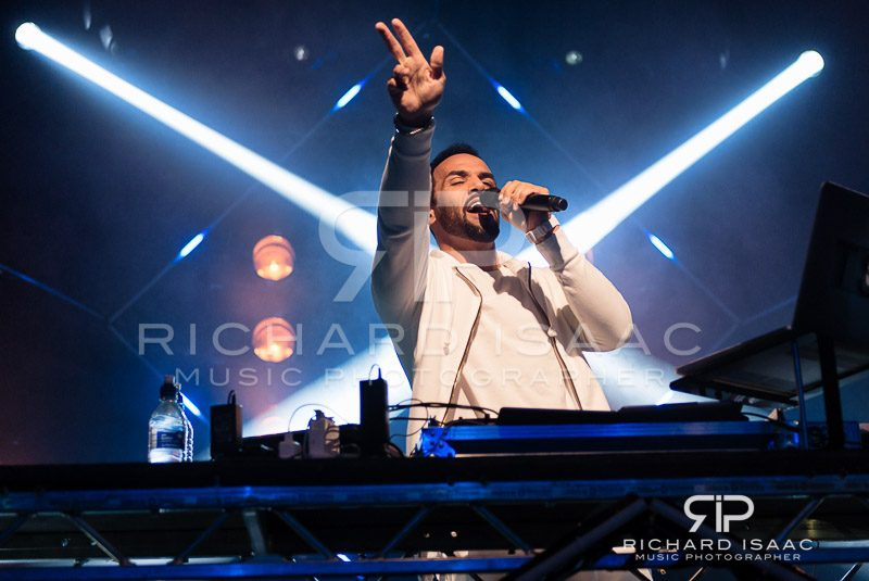 Craig David live at the Electric Ballroom for MTV, 26 January 2016