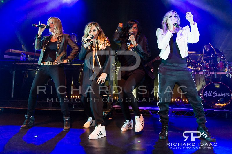 All Saints comeback gig, KOKO 4 April 2016
