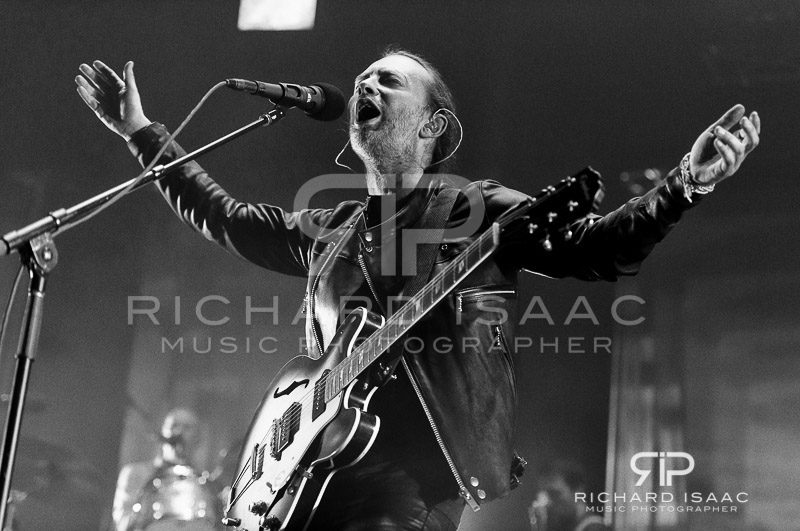 Thom Yorke of Radiohead live at the Roundhouse, 26 May 2016