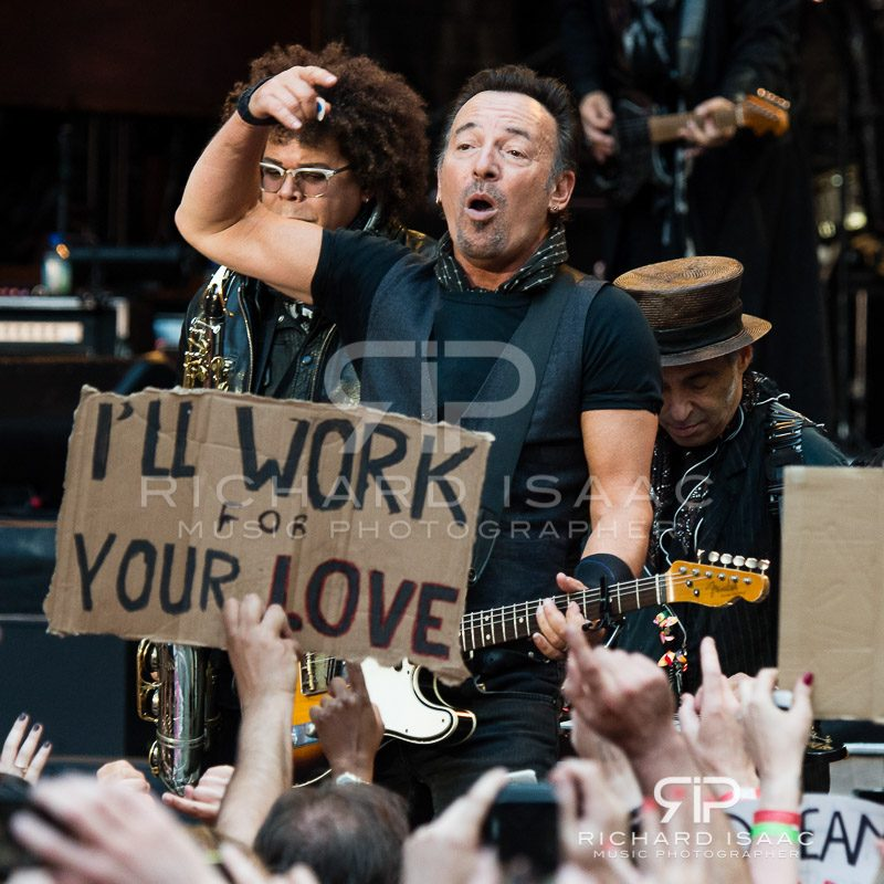 Bruce Springsteen live at Wembley Stadium, 5 June 2016