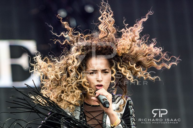 Ella Eyre live at British Summertime Hyde Park, 9 July 2016