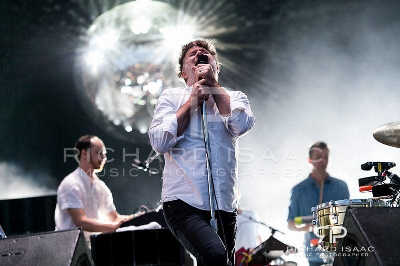 LCD Soundsystem live at Lovebox 2016, 17 July 2016