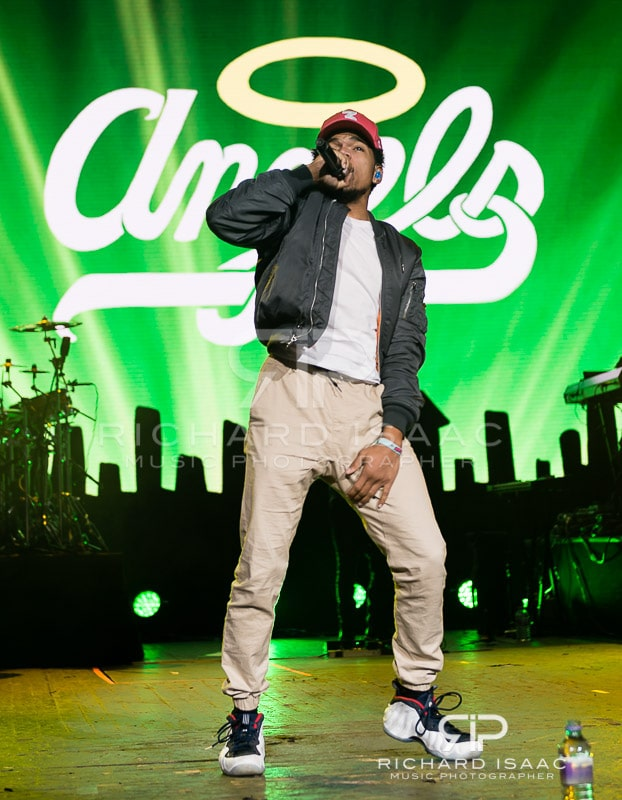 Chance the Rapper live at Brixton Academy, 20 November 2016