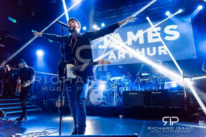 James Arthur live at KOKO, 20 December 2016